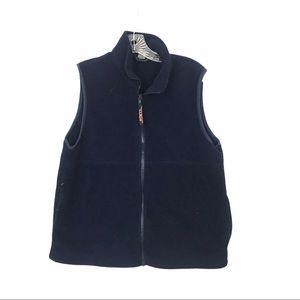 LLBean Md Dark Navy Vest